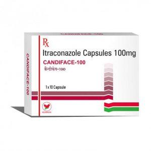 Itraconazole (Candiface 100) 100 mg Capsules