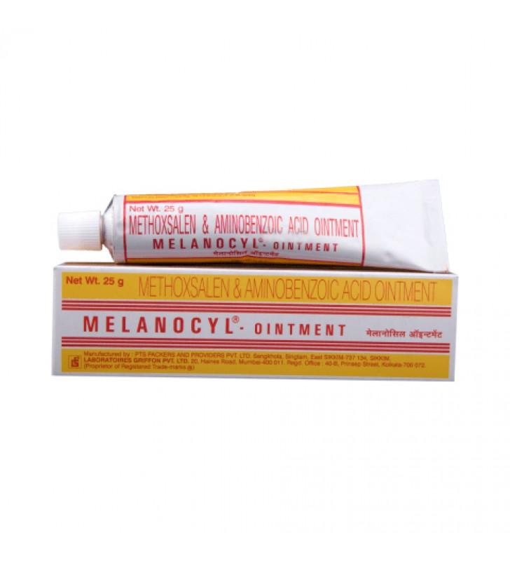 Methoxsalen (Melanocyl) 0.75% Oint Oint