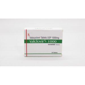 Valacyclovir (Valclovir) 1000 mg Tabs