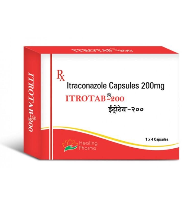 Itraconazole (Itrotab 200) 200 mg Capsules