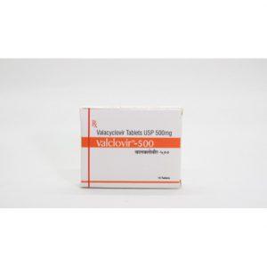 Valacyclovir (Valclovir) 500 mg Tabs